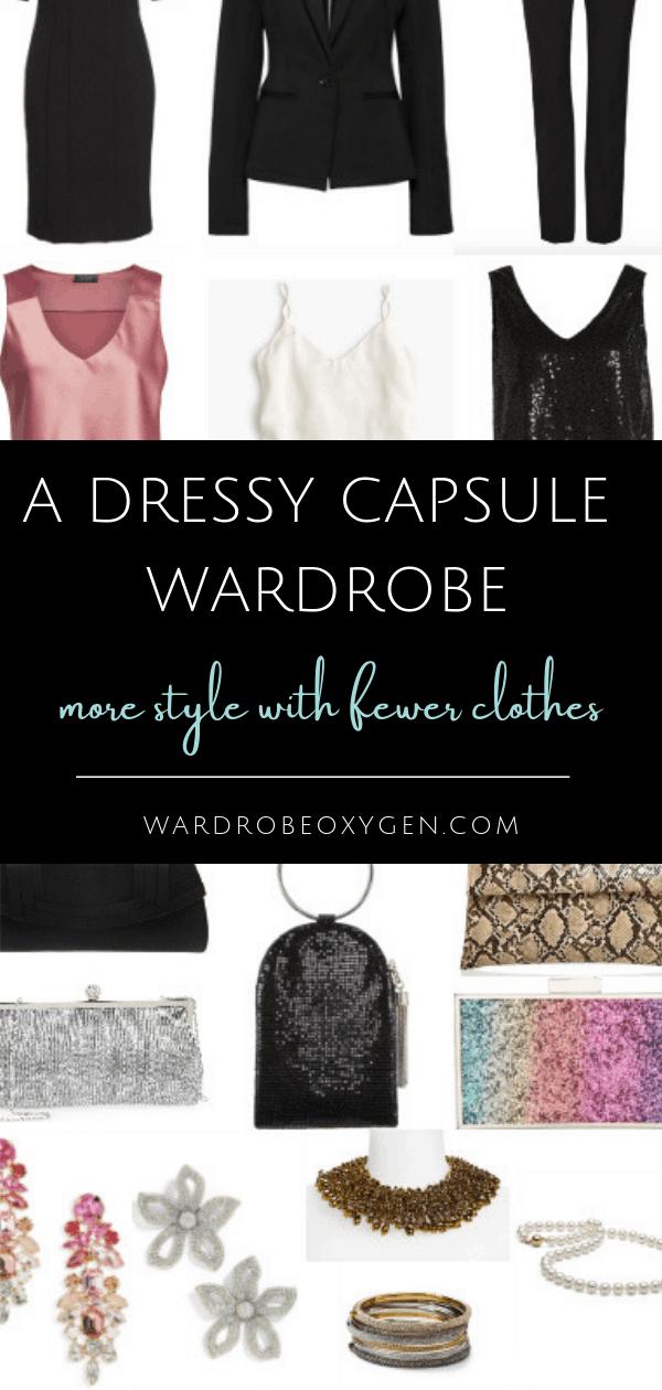 Building a dressy capsule wardrobe
