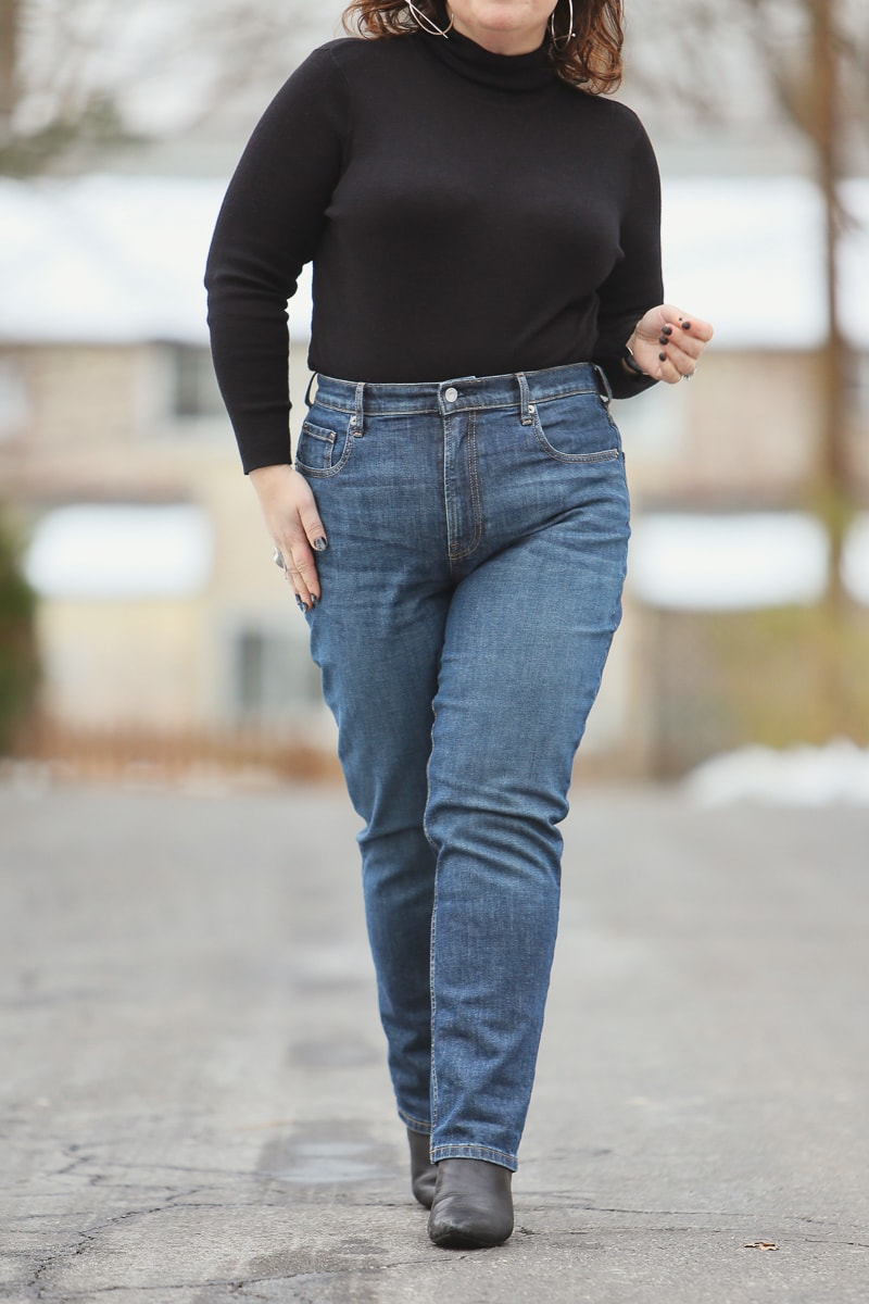 Everlane Cheeky Straight Jean Review