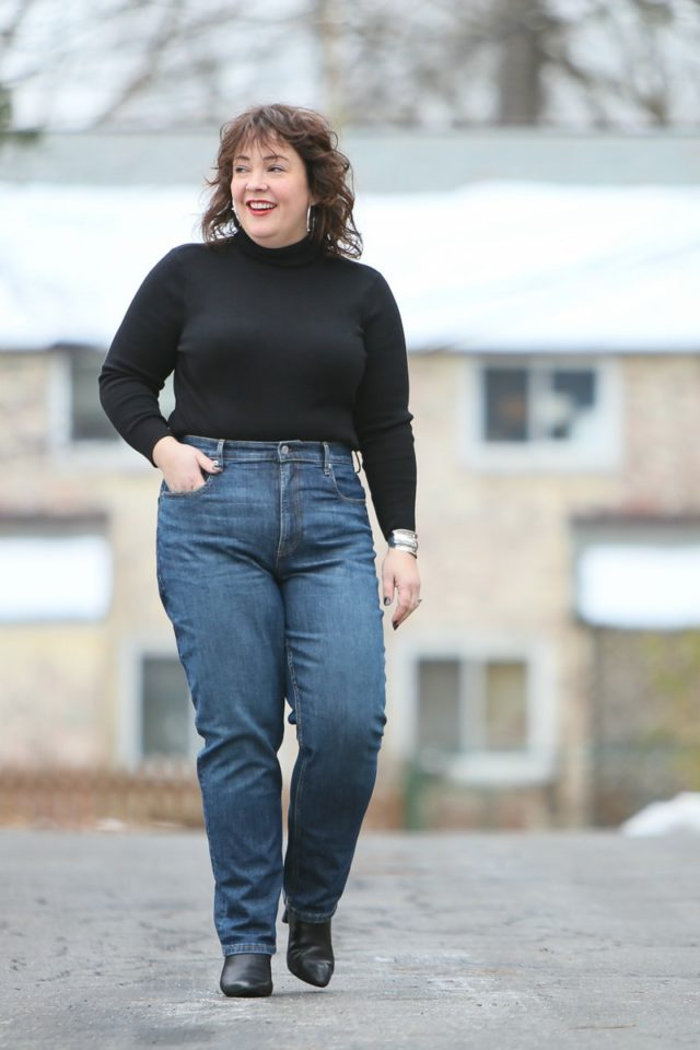 2b1794110e03 Everlane Jeans Review by a Curvy Size 12 14 Petite Woman