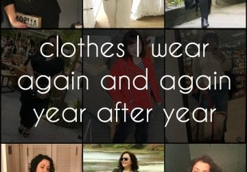 What Made the Cut: My Core Wardrobe