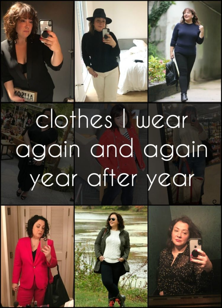 how to buy clothes you wear again and again