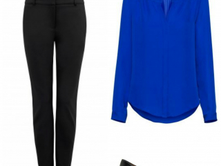 Black and blue- always a classic