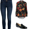 If you have a leopard print belt, consider adding it to this Casual Friday look!