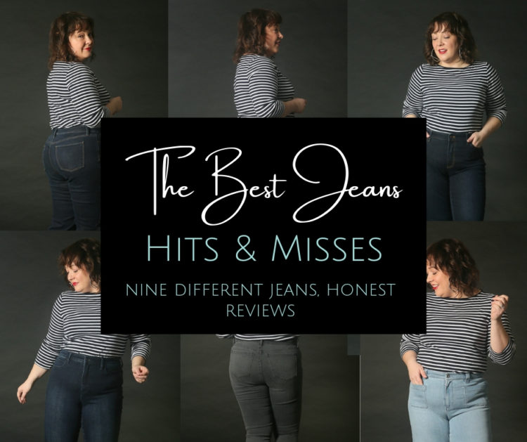 The best jeans hits and misses from brands such as Talbots, J.Jill, and Mott & Bow by Wardrobe Oxygen, an over 40 fashion blog