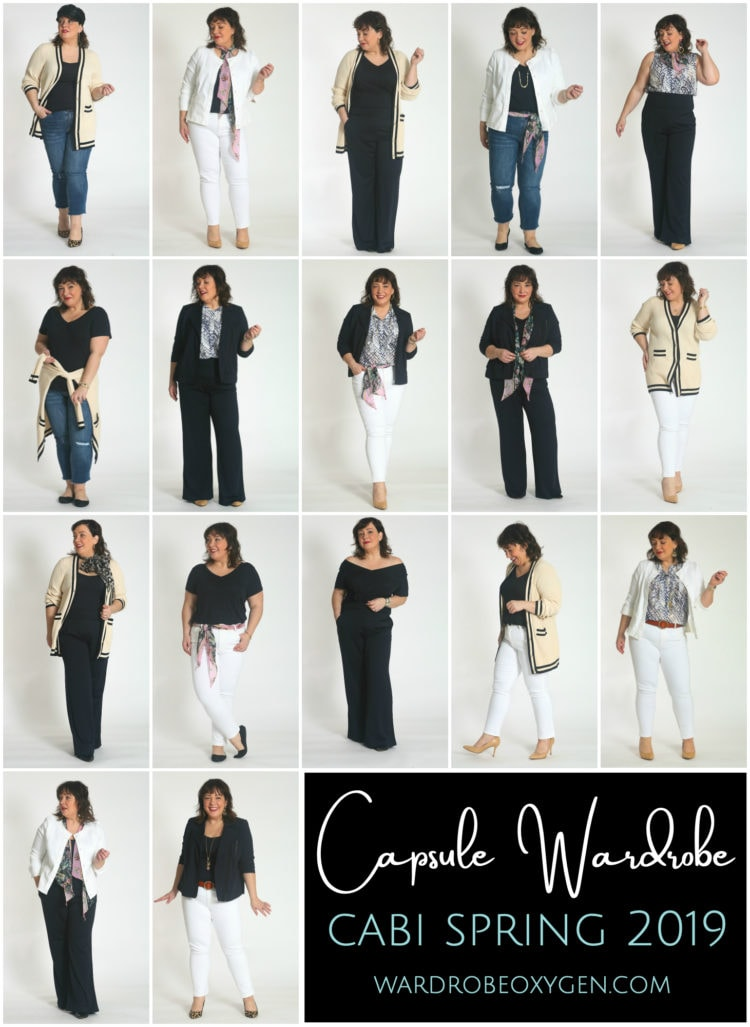 a cabi capsule wardrobe for spring 2019
