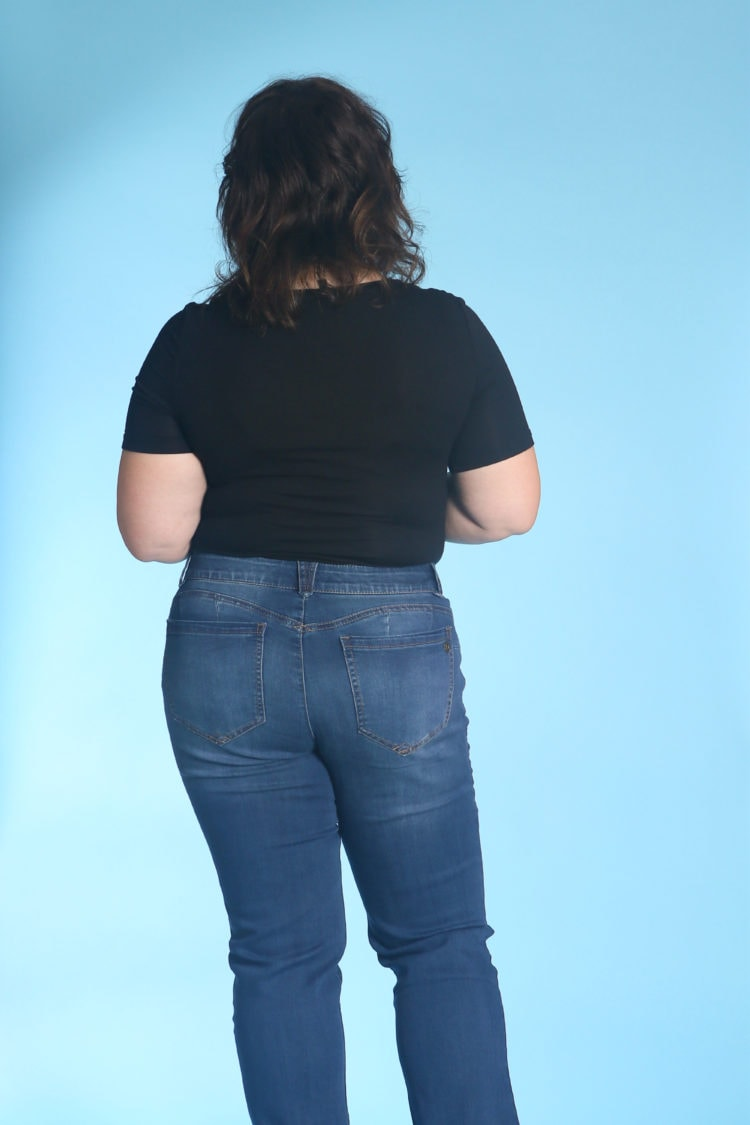A review of Democracy Patriot Straight Leg Jeans by Wardrobe Oxygen