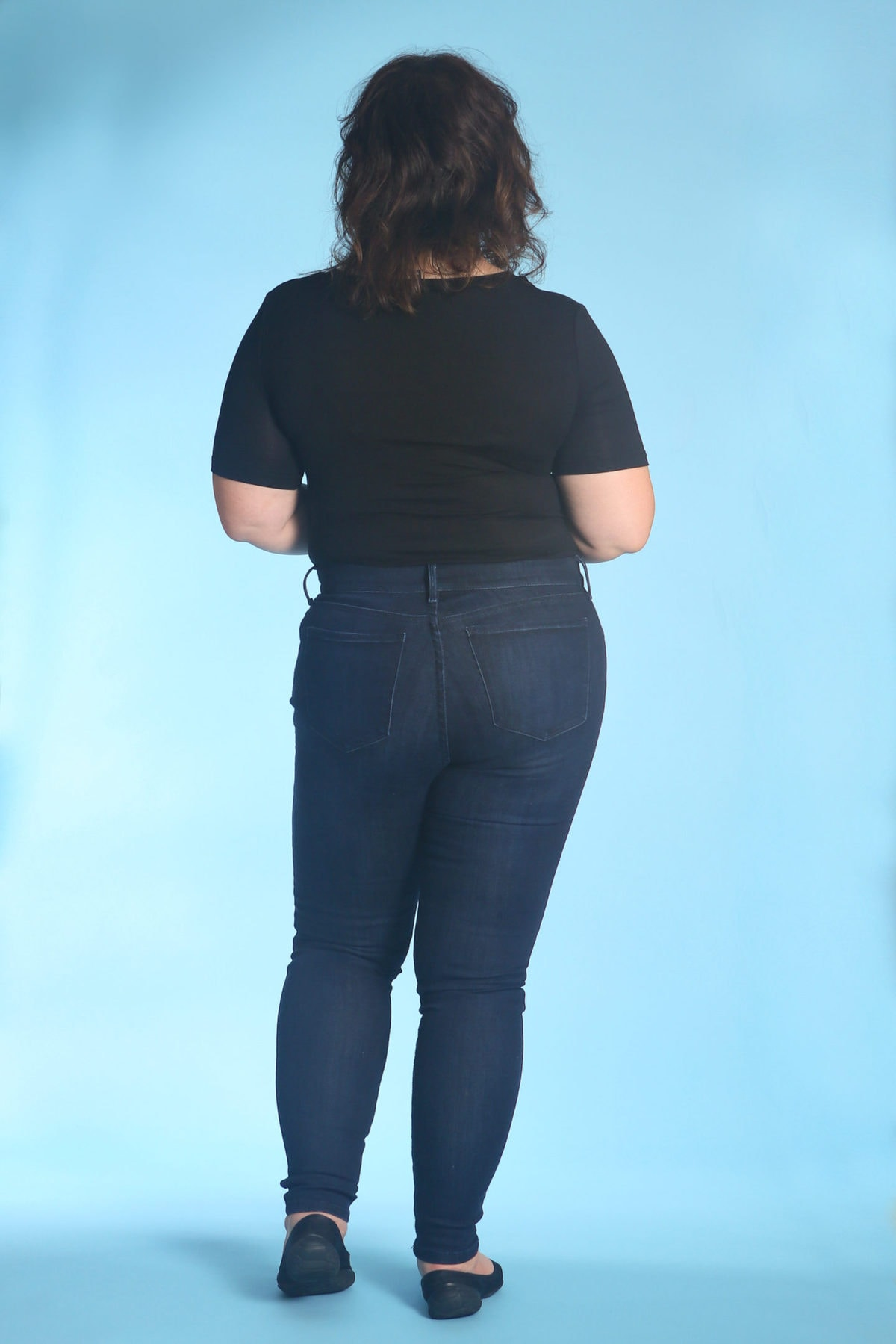 A review of Mott & Bow High-Rise Skinny Jeans by Wardrobe Oxygen