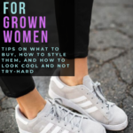 trendy sneakers for grown women and moms