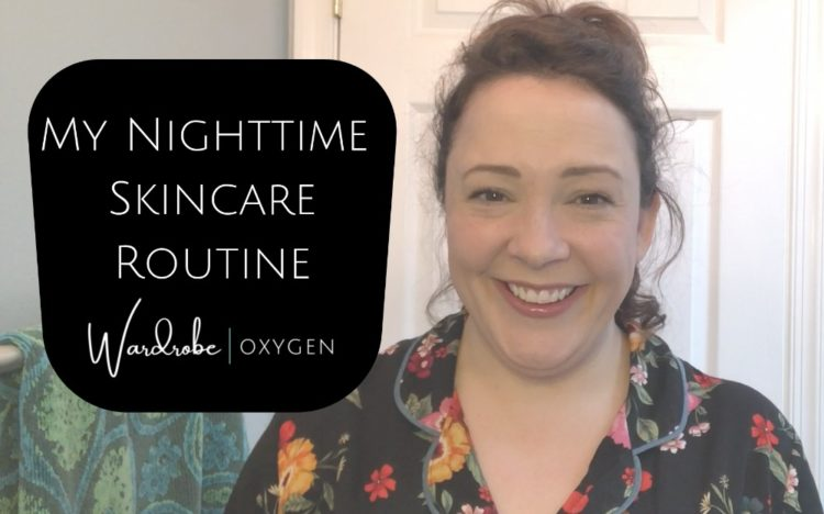 over 40 nighttime skincare routine