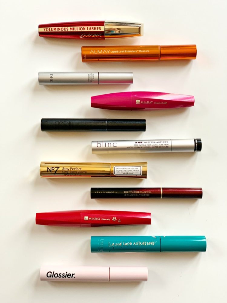 the best tubing mascaras as reviewed by wardrobe oxygen