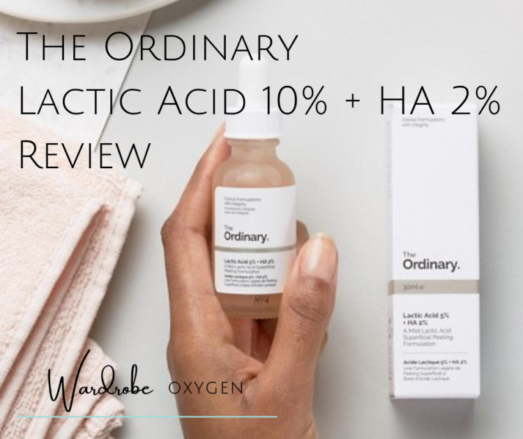 The Ordinary Lactic Acid 10% + HA 2% Review