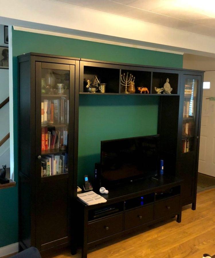 IKEA Hemnes TV cabinet system