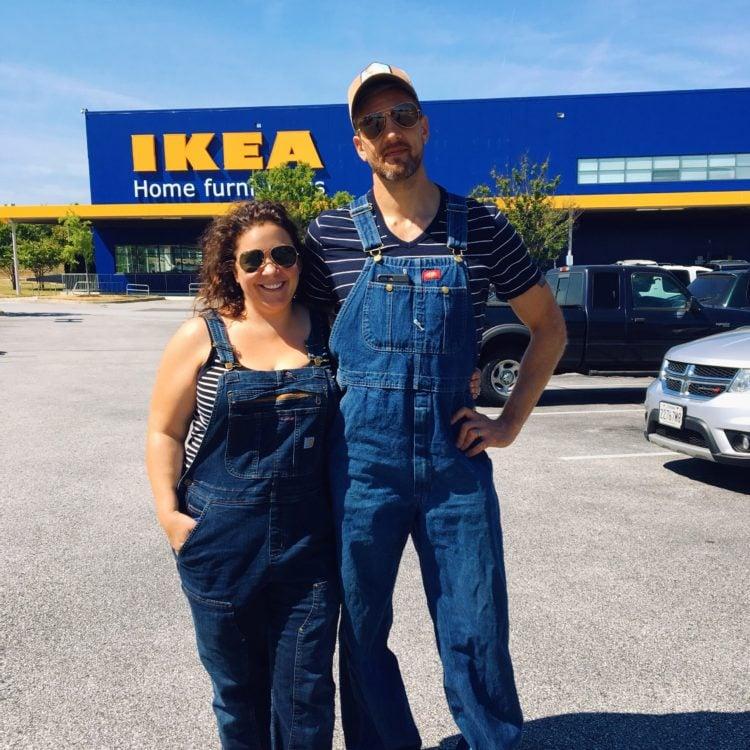 Garys in overalls