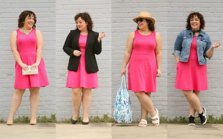 styling one dress four ways