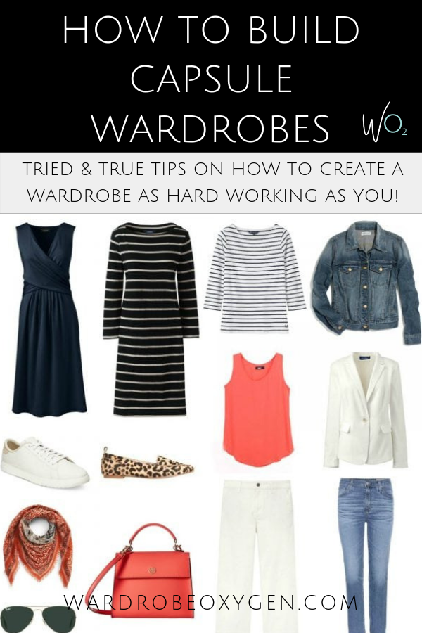 How to create capsule wardrobes: tips on how to make high functioning wearable and fun to wear capsule wardrobes by Wardrobe Oxygen