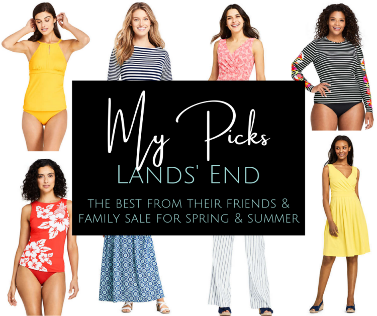 Lands' End Friends and Family beat picks to shop the sale for women, for home, and more
