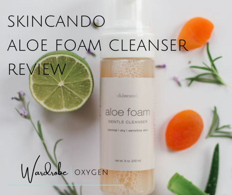 skincando aloe foam cleanser review