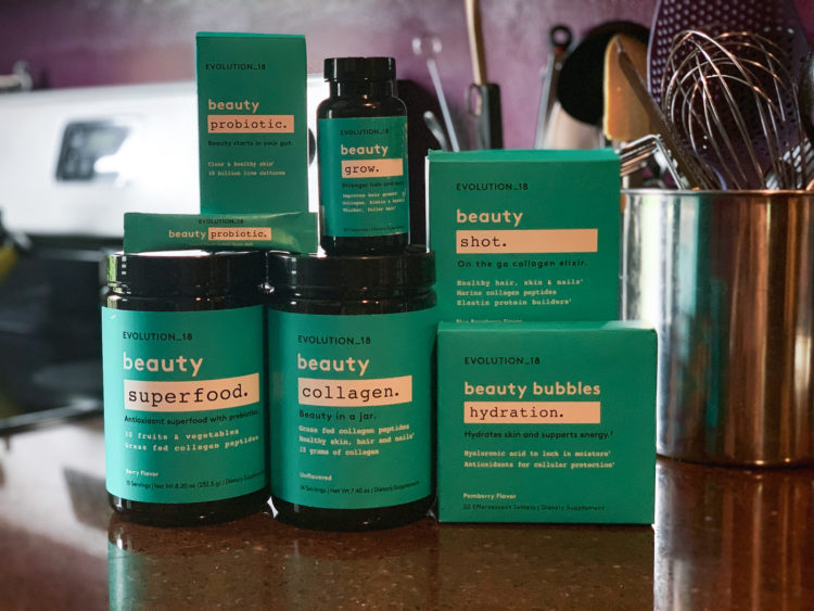 A review of EVOLUTION_18 the new inner beauty line of supplements by Bobbi Brown available exclusively at Walmart