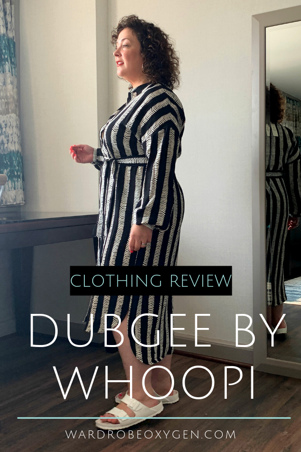DUBGEE by Whoopi clothing review