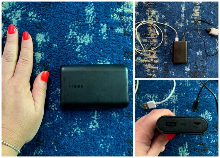 image of anker portable phone charger