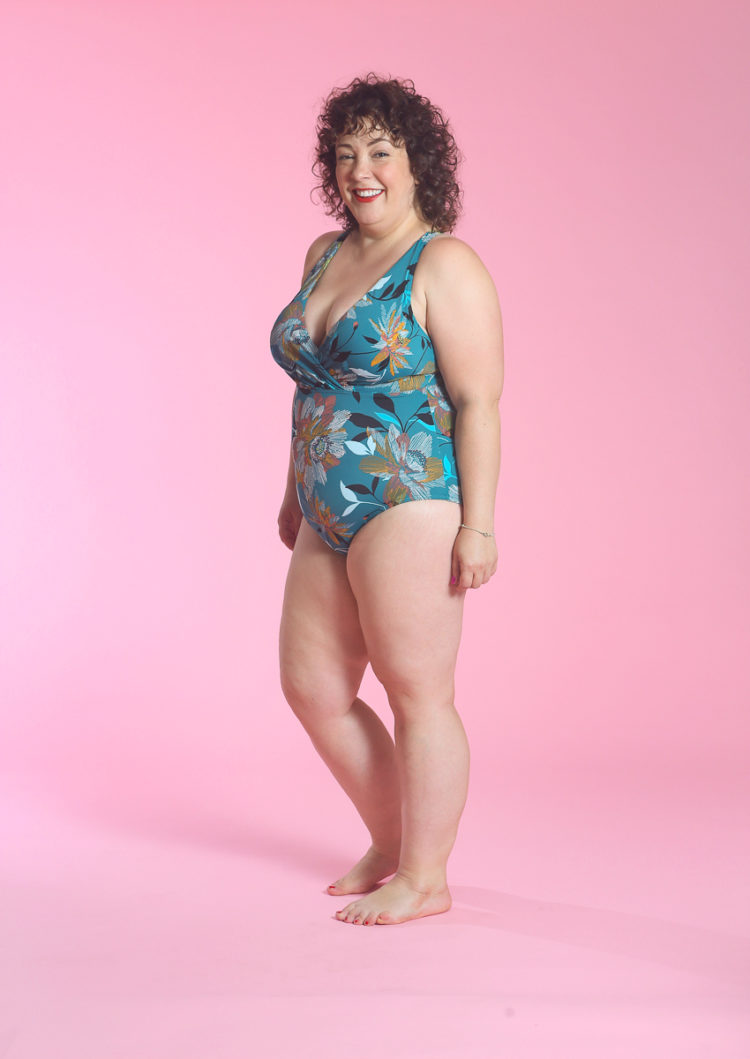 image of Wardrobe Oxygen in Target Dreamsuit Slimming Control Cross Back One Piece Swimsuit