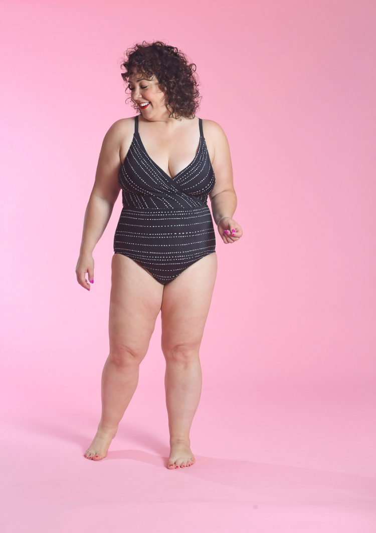 image of Wardrobe Oxygen in Target Dreamsuit Slimming One Piece Wrap Swimsuit