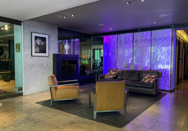 image of The River Inn DC lobby