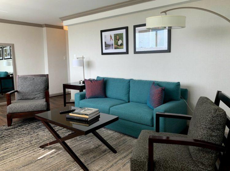 The River Inn in DC - Living Room