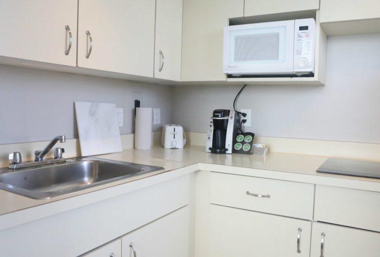 The River Inn DC kitchen