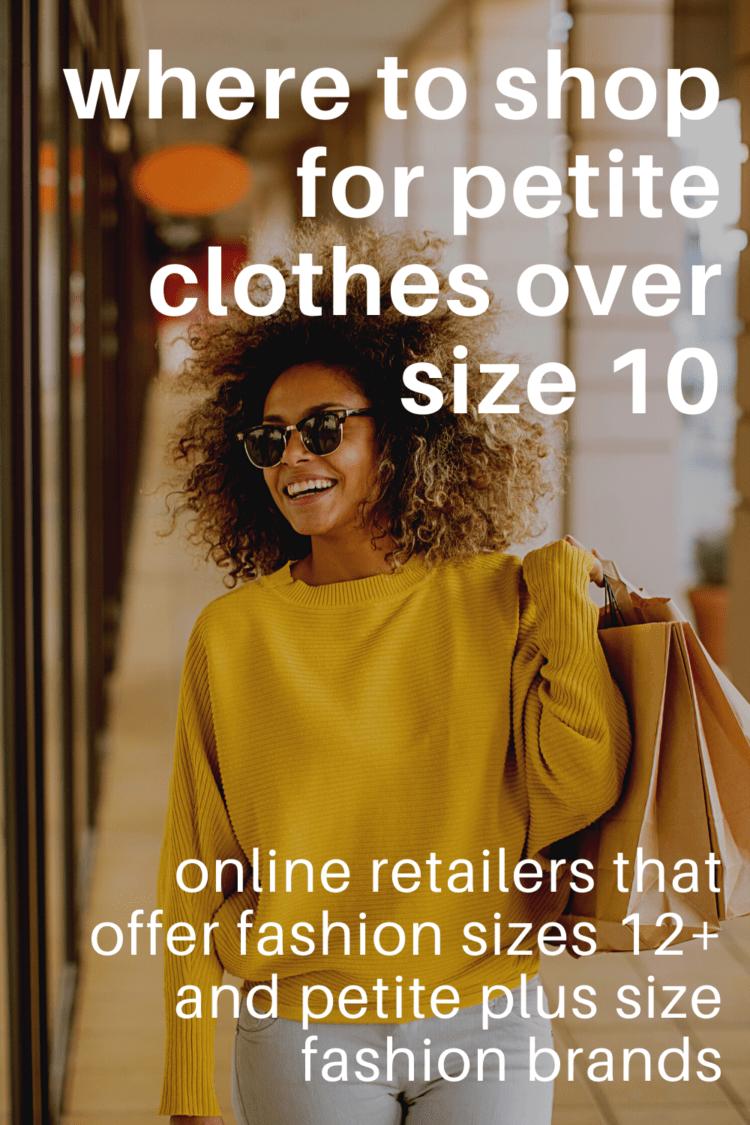 where to shop petite plus size fashion