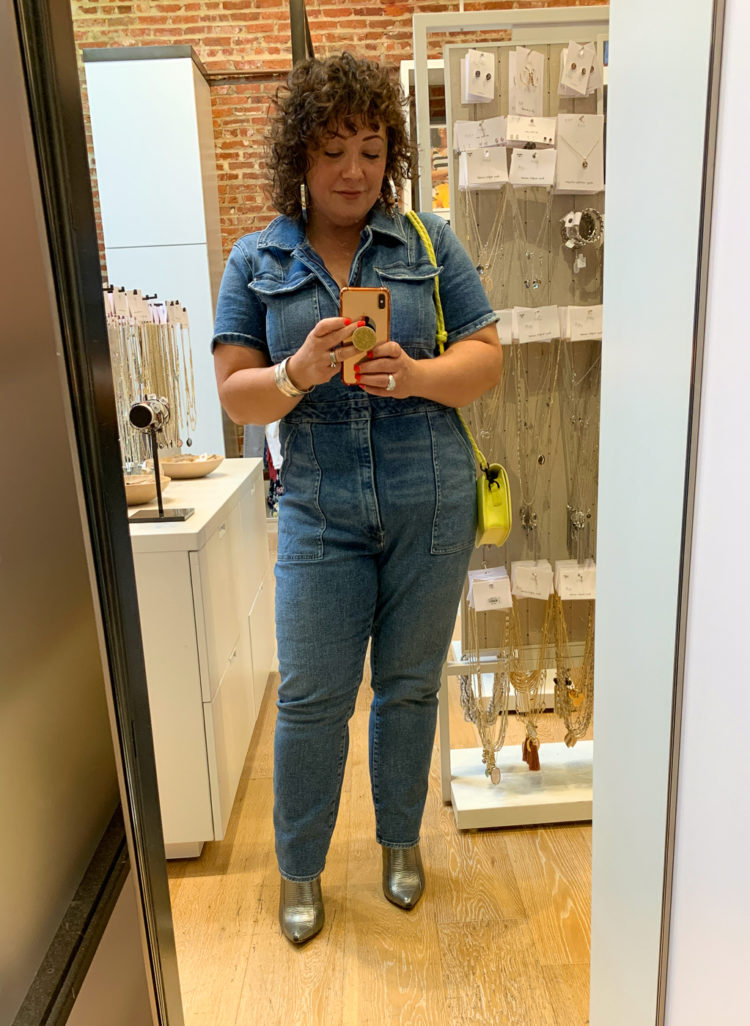 good american jumpsuit denim 3