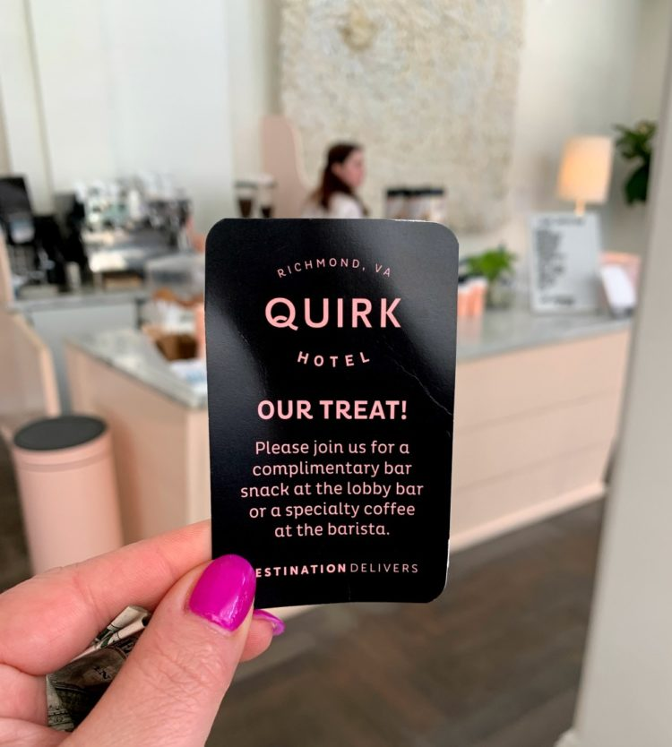 quirk hotel richmond review