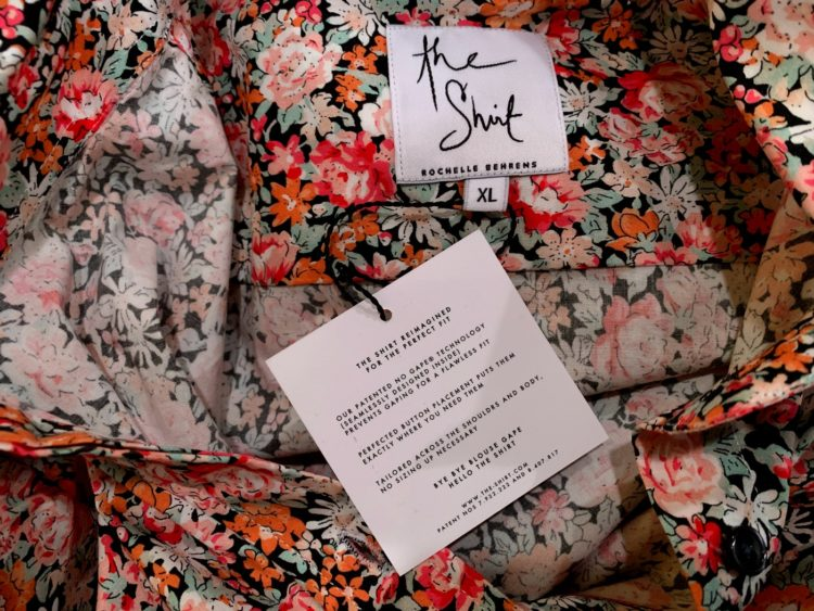 the label from The Shirt