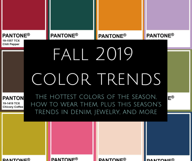 fall 2019 color trends