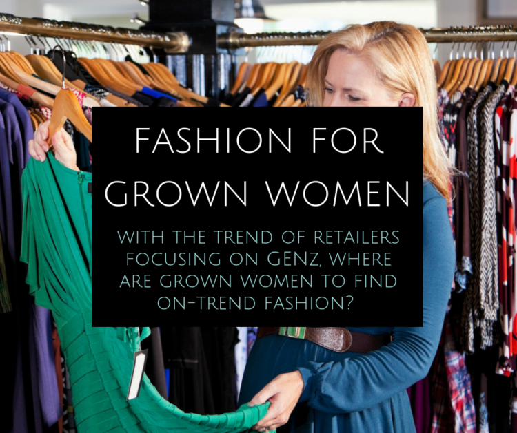 fashion for grown women - where to shop and where to find inspiration