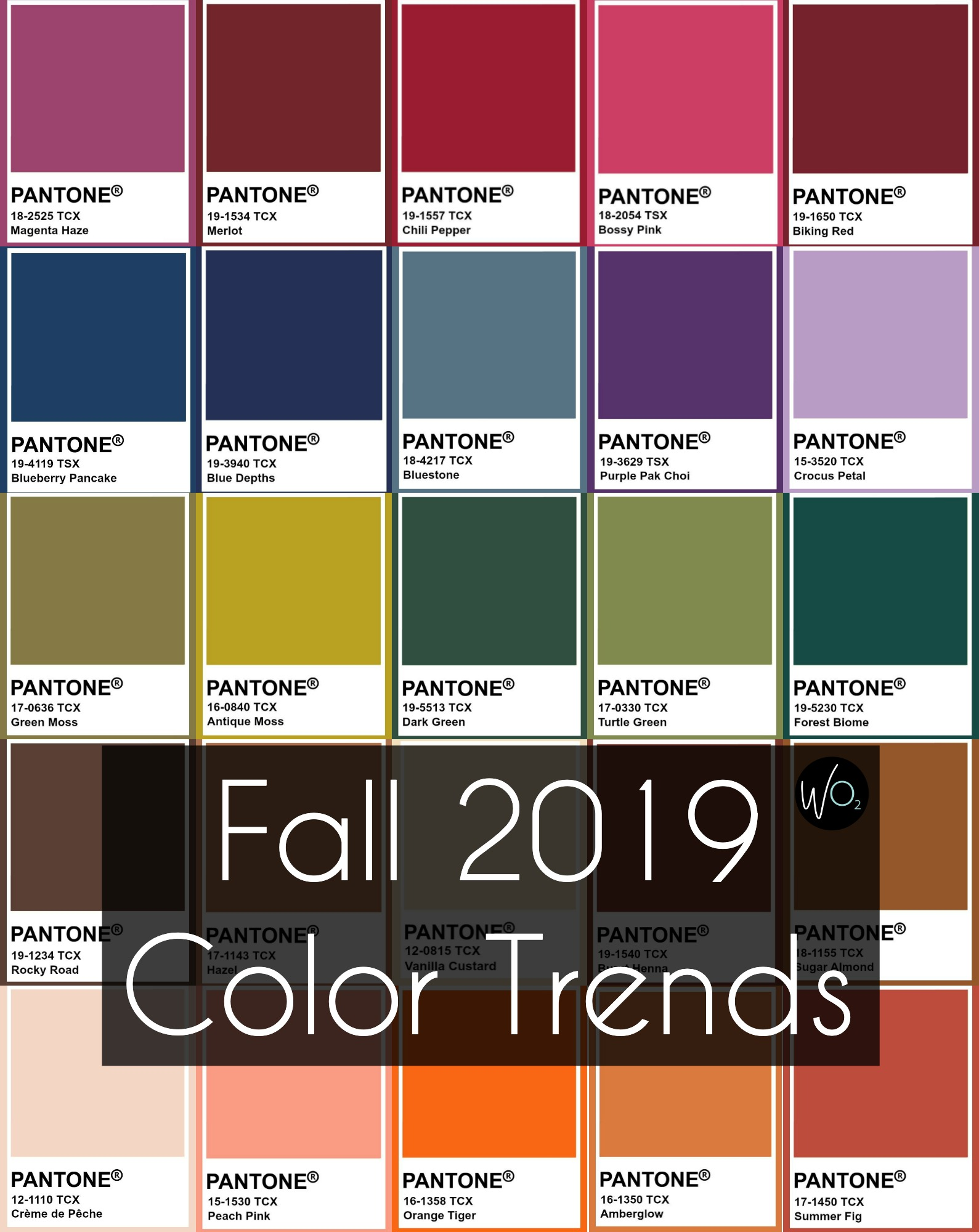 The It Fall Clothing Colors Of The Season: Fall 2019 Color Trends