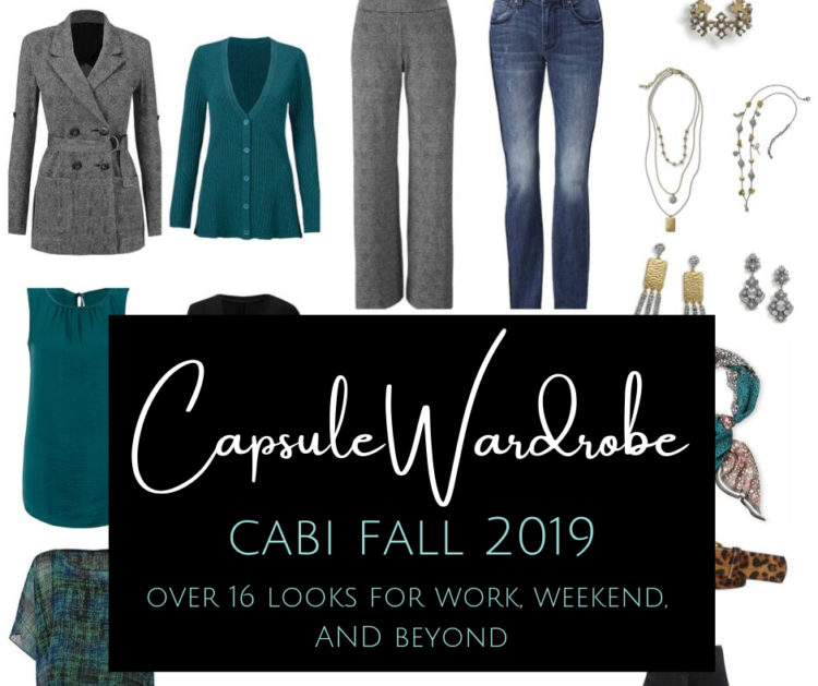a cabi capsule wardrobe for fall 2019