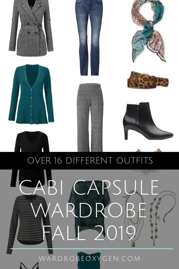 capsule wardrobe fall 2019 cabi