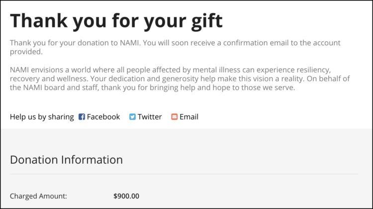 nami donation