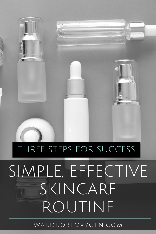 simple effective skincare routine drugstore options