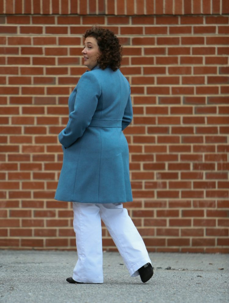 talbots coat back view