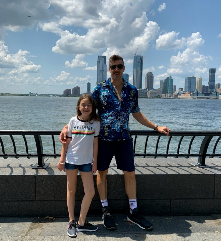 visiting lower manhattan new york as a family