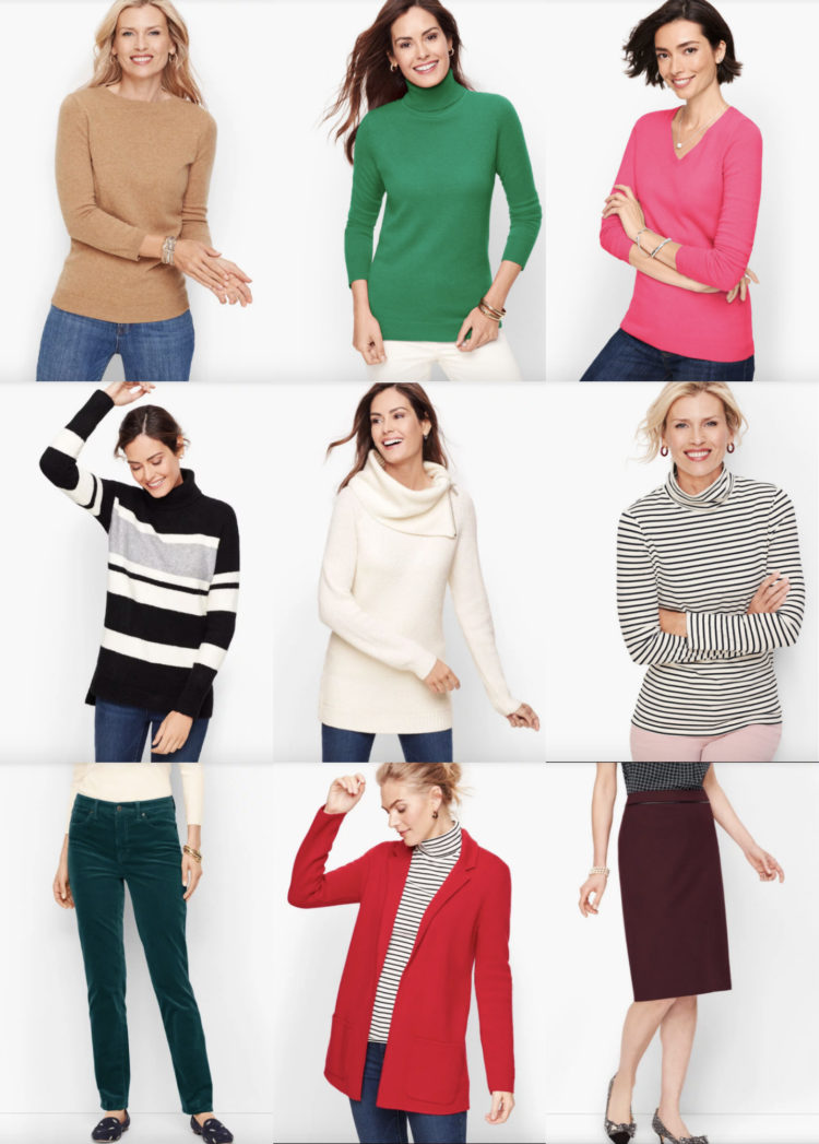 best picks for fall from talbots