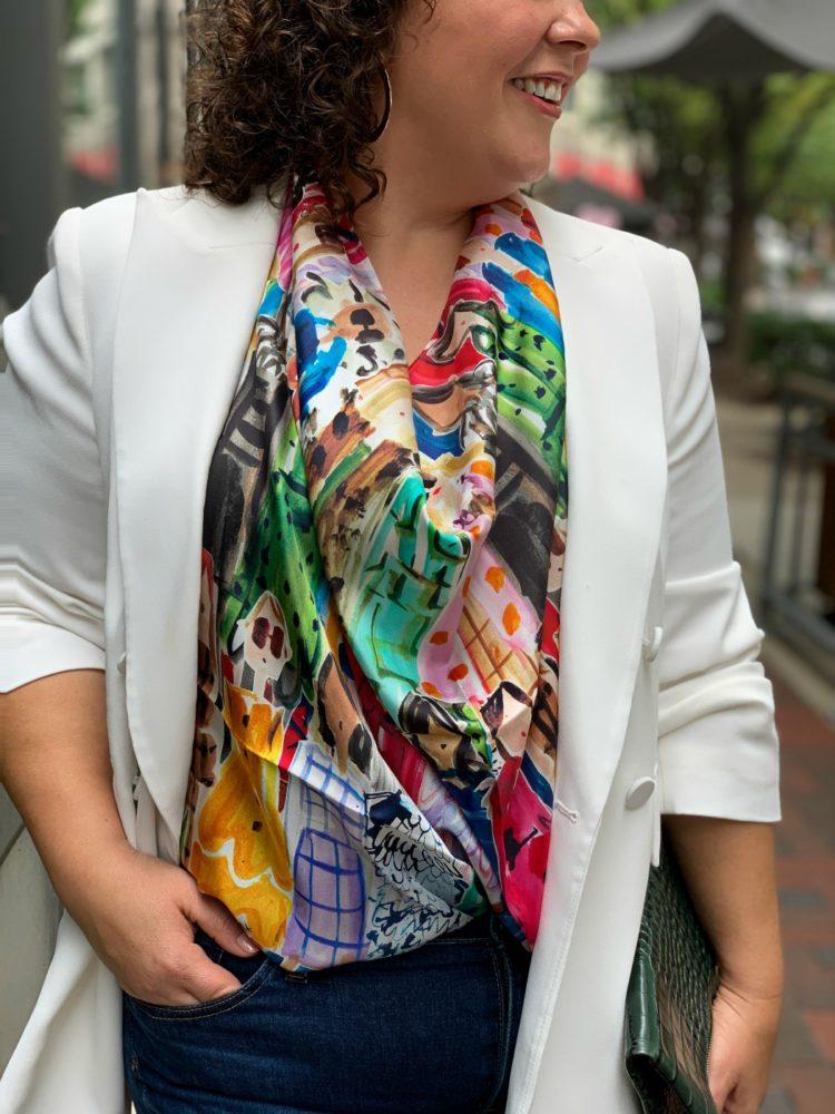 talbots scarf breast cancer