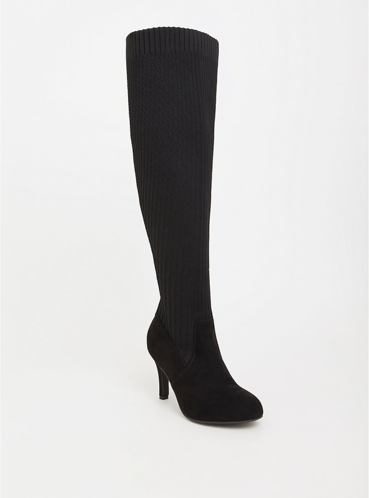 Torrid Knit Over the Knee Boot