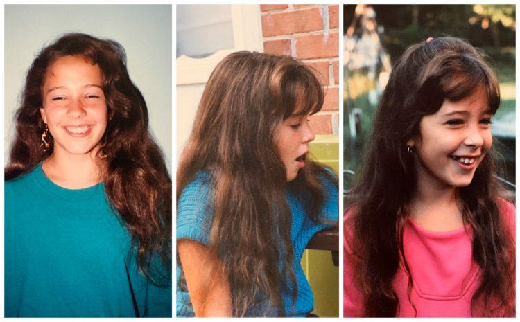 alison gary hair as a child