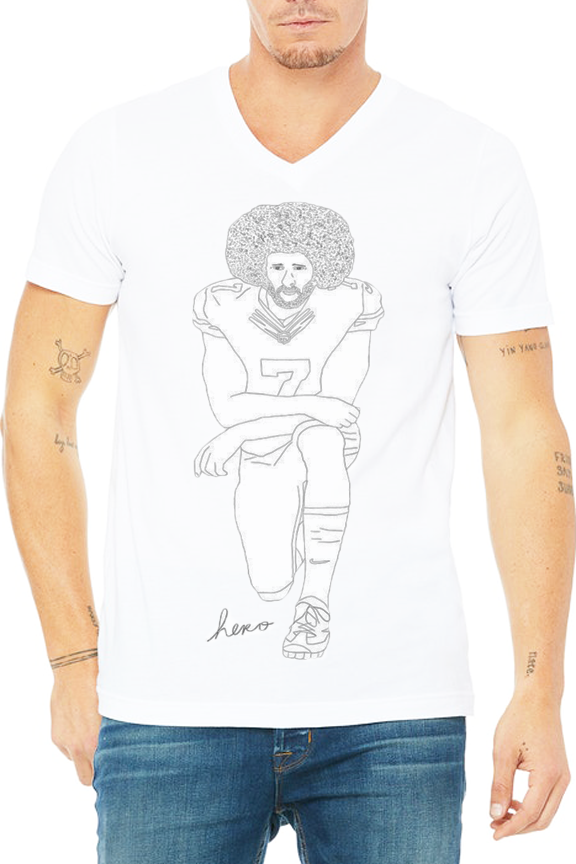 The Outrage's Colin Kaepernick Is A Hero Unisex Tee