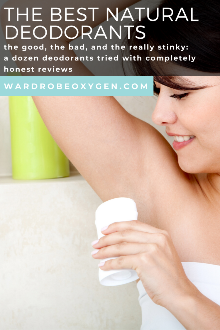 Reviews of over a dozen natural deodorants including Lume deodorant, Native Deodorant, and more
