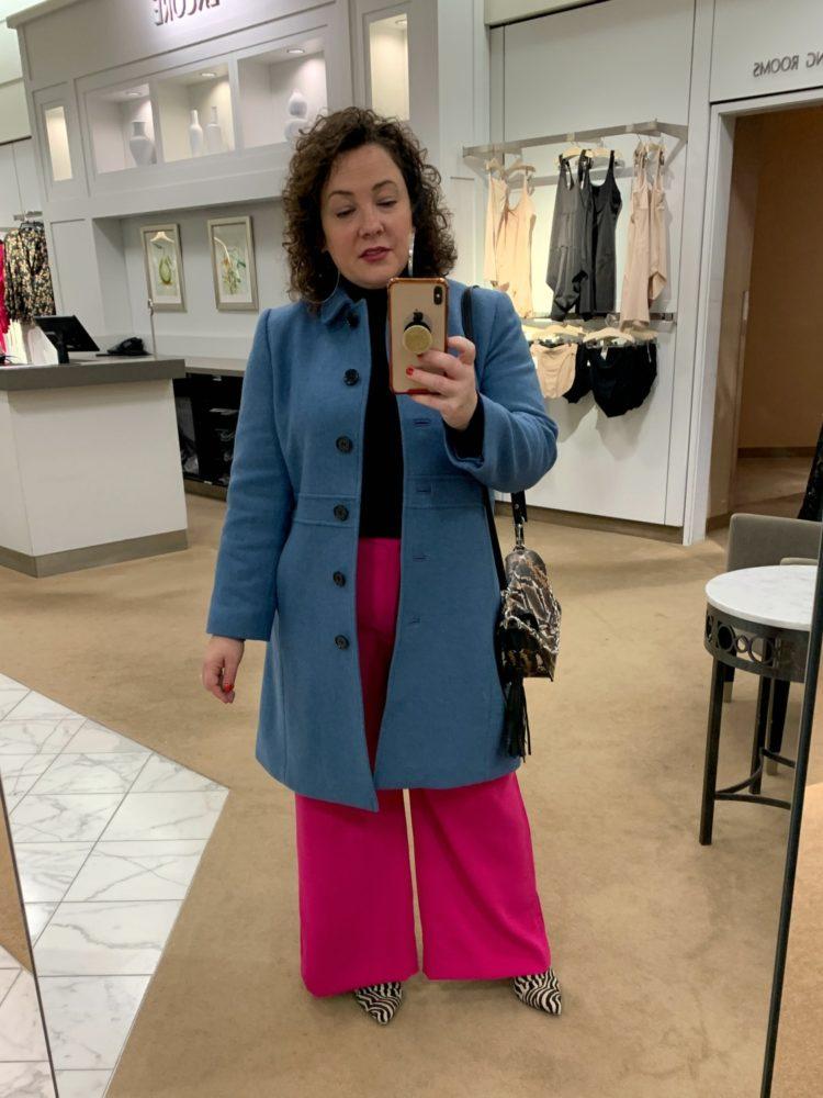 talbots lady coat