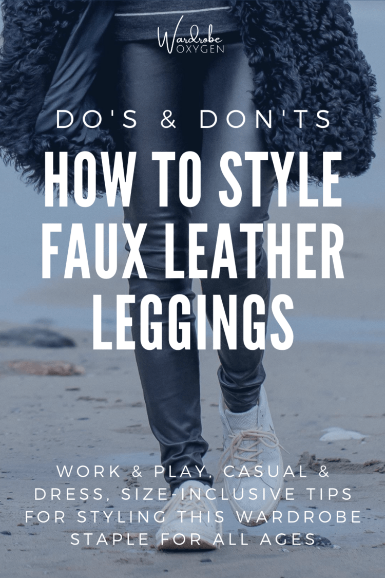 how to style plus size faux leather leggings